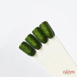 Блестки для втирки, Born Pretty голографические 1-4-04, цвет зеленый, 1 г