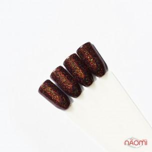 Блестки для втирки, Born Pretty голографические 1-4-05, цвет коричневый, 1 г