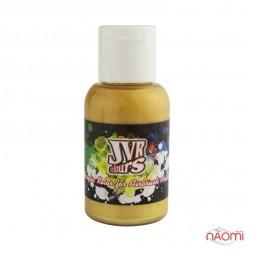Акриловая краска для аэрографа JVR Revolution 302, цвет перламутрово-золотой, 30 мл