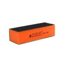 Бафик-шліфувальник Starlet Professional 3-ст., колір помаранчевий, 100/180