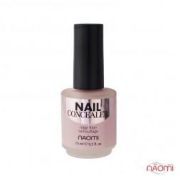 Консилер для нігтів Naomi Nail Concealer, 15 мл