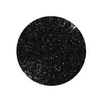 Блестки для украшения ногтей, цвет черный, в пакетике, 5 г