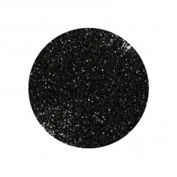 Блестки для украшения ногтей, цвет черный, в пакетике 5 г
