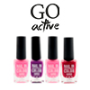 Лаки для ногтей Go Active