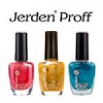 Лаки для ногтей Jerden Proff