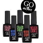 Гель-лаки GO Active Коллекция GO Active Glass Effe