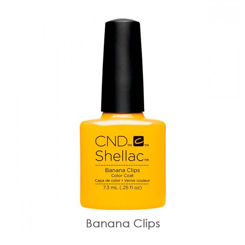 CND Shellac Banana Clips бананово-желтый эмалевый, 7,3 мл, фото 1, 339.00 грн.