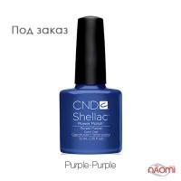 CND Shellac Purple Purple блестящий фиолетово-синий, 15 мл