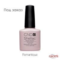 CND Shellac Romantique бледный молочно-розовый, 15 мл