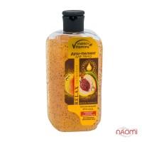 Душ-пилинг для тела ENERGY of Vitamins Витаминный коктейль с косточкой персика, 250 мл