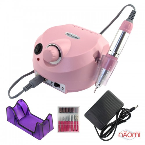 Фрезер Nail Master ZS-601, 35 000 оборотов/мин, цвет розовый, фото 1, 698.00 грн.