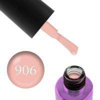 Гель-лак F.O.X Masha Create Pigment 906 телесно-абрикосовый полупрозрачный эмалевый, 6 мл