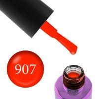 Гель-лак F.O.X Masha Create Pigment 907 оранжево-красный плотный эмалевый, 6 мл