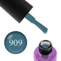 Гель-лак F.O.X Masha Create Pigment 909 индиго плотный эмалевый, 6 мл