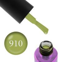 Гель-лак F.O.X Masha Create Pigment 910 яркий оливковый плотный эмалевый, 6 мл
