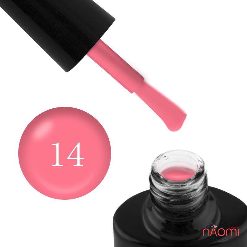 Гель-лак FOCUS PREMIUM 014 розово-лососевый, 8 мл, фото 1, 135.00 грн.