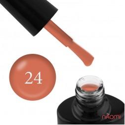 Гель-лак FOCUS PREMIUM 024 оранжево-терракотовый, 8 мл