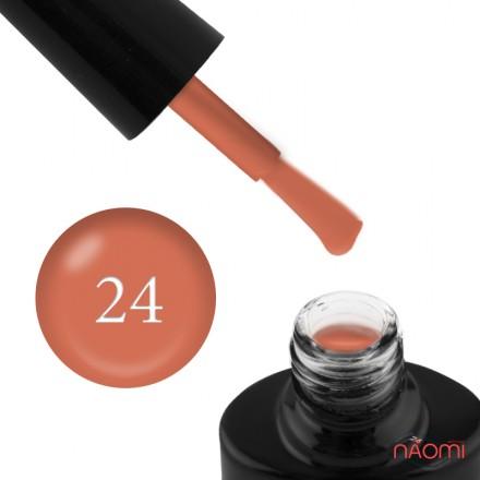 Гель-лак FOCUS PREMIUM 024 оранжево-терракотовый, 8 мл, фото 1, 135.00 грн.