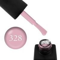 Гель-лак Kodi Professional 328 розовая пудра, эмалевый, плотный, 8 мл