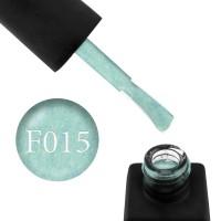 Гель-лак Kodi Professional Felt F 015 салатово-бирюзовый фетр, 8 мл