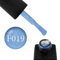 Гель-лак Kodi Professional Felt F 019 голубой фетр, 8 мл