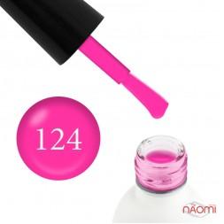Гель-лак Koto 124 розовая фуксия, 5 мл