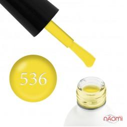 Гель-лак Koto 536 яркий лимонно-желтый, 5 мл