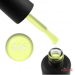 Гель-лак My Nail 406 лимонный с флуоресцентным эффектом, 9 мл