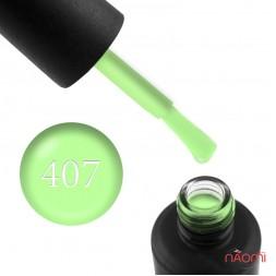 Гель-лак My Nail 407 лаймовый с флуоресцентным эффектом, 9 мл