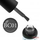 Гель-лак Boho Chic BC 001 серый, 6 мл, фото 1, 115.00 грн.