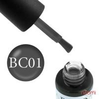 Гель-лак Boho Chic BC 001 серый, 6 мл