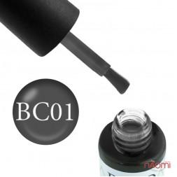Гель-лак Boho Chic BC 001 сірий, 6 мл