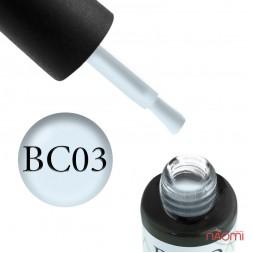 Гель-лак Boho Chic BC 003 пепельно-голубой, 6 мл