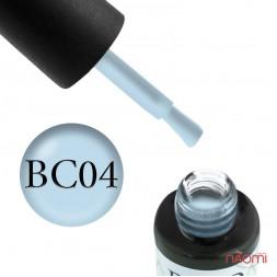Гель-лак Boho Chic BC 004 дымчато-голубой, 6 мл