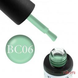 Гель-лак Boho Chic BC 006 дымчато-зеленый, 6 мл