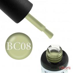 Гель-лак Boho Chic BC 008 фісташково-зелений, 6 мл