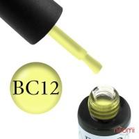 Гель-лак Boho Chic BC 012 жовтий, 6 мл