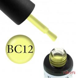 Гель-лак Boho Chic BC 012 желтый, 6 мл