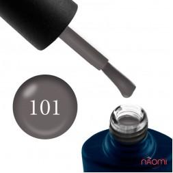 Гель-лак NUB 101 Sophisticated м'який коричнево-сірий, 8 мл