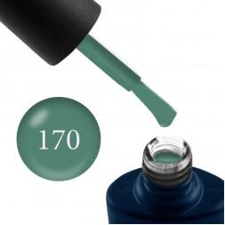 Гель-лак NUB 170 сіро-зелений мох, 8 мл