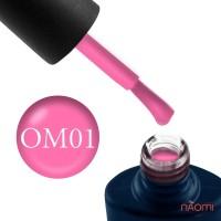 Гель-лак NUB Ohh My Matt 01 неоново-розовый матовый флуоресцентный, 8 мл