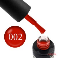 Гель-лак Oxxi Professional 002 красный, 10 мл