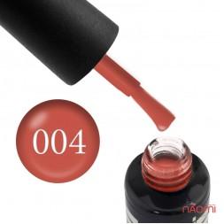 Гель-лак Oxxi Professional 004 бледный красный, 10 мл