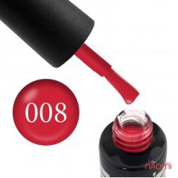 Гель-лак Oxxi Professional 008 красный, 10 мл