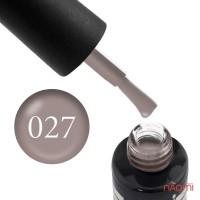 Гель-лак Oxxi Professional 027 светлый коричнево-серый, 10 мл