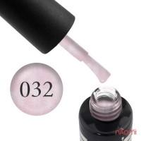 Гель-лак Oxxi Professional 032 ніжний рожевий з мікроблиском, 10 мл