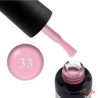 Гель-лак Oxxi Professional 033 бледный розовый эмаль, 8 мл