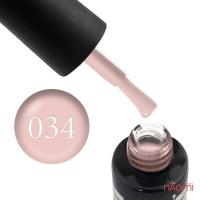 Гель-лак Oxxi Professional 034 бледный персиково-розовый, 10 мл