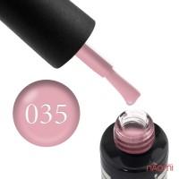 Гель-лак Oxxi Professional 035 пастельный кораллово-розовый, 8 мл