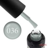 Гель-лак Oxxi Professional 036 голубо-серый, 10 мл